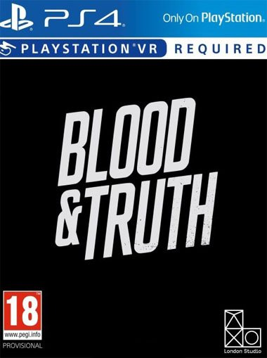 Blood & Truth - PS4/PSVR (Digital Code) cd key