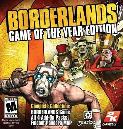 Borderlands Game of the Year cd key