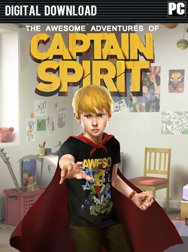 The Awesome Adventures of Captain Spirit cd key