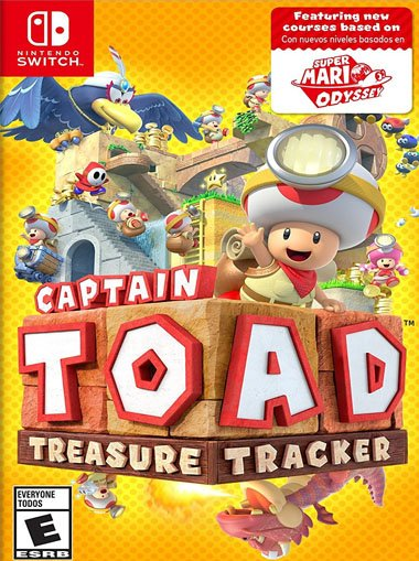 Captain Toad: Treasure Tracker - Nintendo Switch cd key