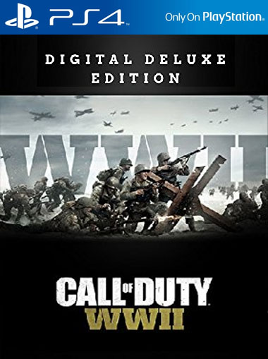 Call of Duty WWII Deluxe Edition - PS4 (Digital Code) cd key