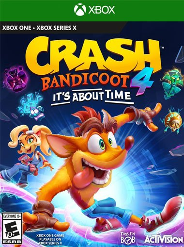 Crash Bandicoot 4: It's About Time - Xbox One / Series X (Digital Code) cd key