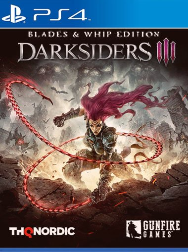 Darksiders III Blades & Whip Edition - PS4 (Digital Code) cd key