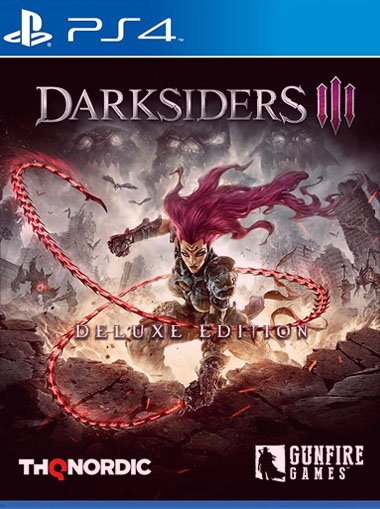 Darksiders III Deluxe Edition - PS4 (Digital Code) cd key