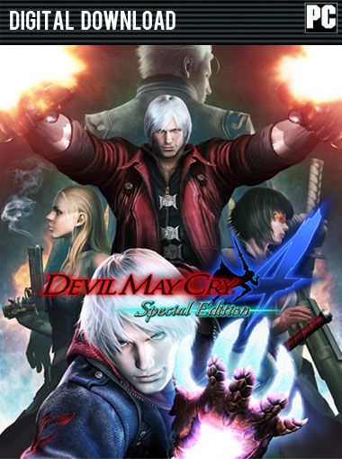 Devil May Cry 4 Special Edition (DmC 4) cd key