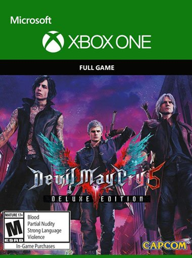 Devil May Cry 5 Deluxe Edition (DmC 5) - Xbox One (Digital Code) cd key