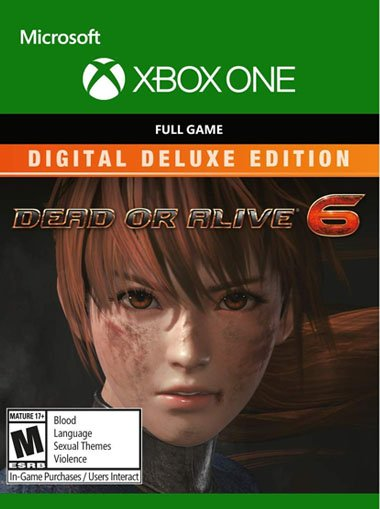 Dead or Alive 6 Digital Deluxe Edition - Xbox One (Digital Code) cd key