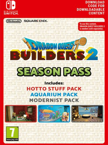 Dragon Quest Builders 2 Season Pass - Nintendo Switch cd key