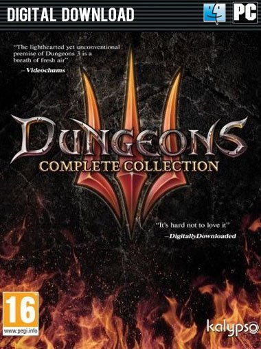 Dungeons 3 - Complete Collection cd key