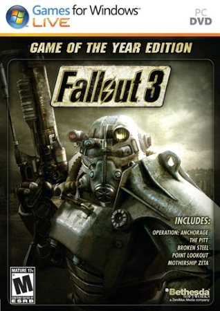 Fallout 3 Game of the Year Edition cd key