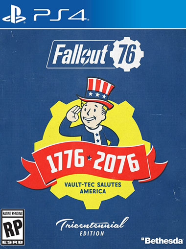 Fallout 76 Tricentennial Edition - PS4 (Digital Code) cd key