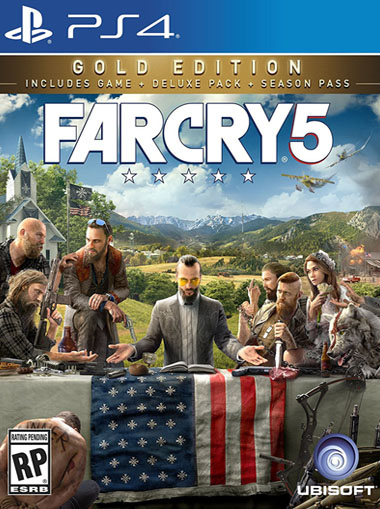 Far Cry 5 Gold Edition - PS4 (Digital Code) cd key