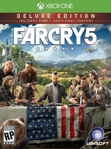 Far Cry 5 Deluxe Edition - Xbox One (Digital Code) cd key