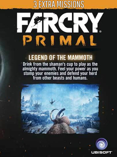 Far Cry Primal - Mammoth Mission Pack (DLC Only) cd key