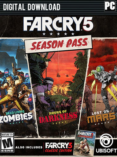Far Cry 5 Season Pass (DLC) [EU/RoW] cd key