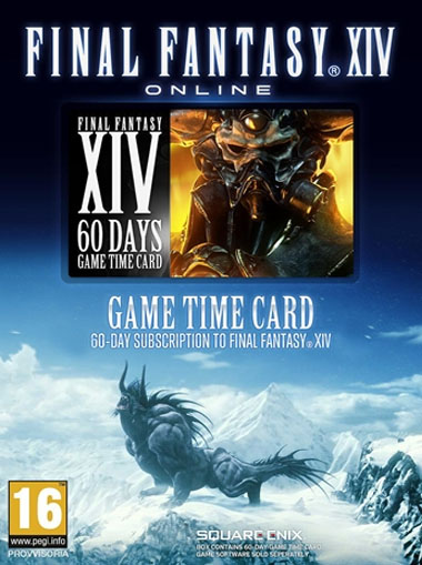 Final Fantasy XIV: 60 Days time card (EU) cd key