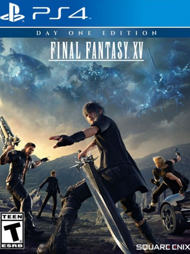 Final Fantasy XV 15 PS4