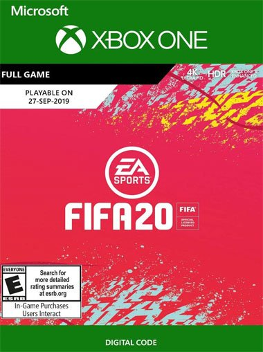 FIFA 20 - Xbox One (Digital Code) cd key