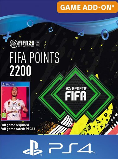 FIFA 20 Ultimate Team - 2200 FIFA Points - PS4 (Digital Code) cd key