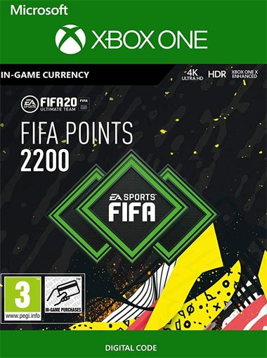 FIFA 20 Ultimate Team - 2200 FIFA Points - Xbox One (Digital Code) cd key