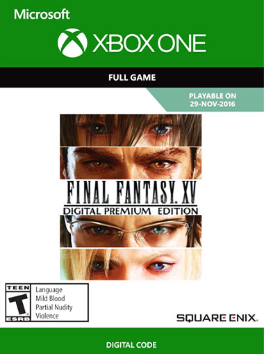 Final Fantasy XV: Digital Premium Edition - Xbox One (Digital Code) cd key