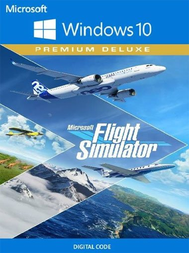 Microsoft Flight Simulator: Premium Deluxe 2020 (Windows 10) cd key