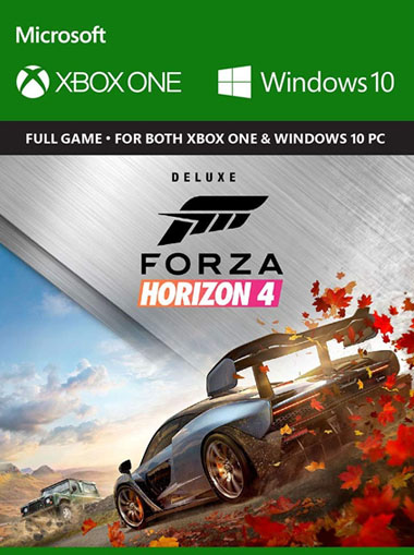 Forza Horizon 4 Digital Deluxe Edition - Xbox One/Windows 10 (Digital Code) cd key