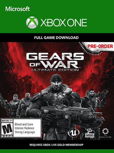 Gears of War: Ultimate Deluxe Edition - Xbox One (Digital Code) cd key