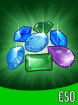 Buy Gems gift card 50 Euro Game Download