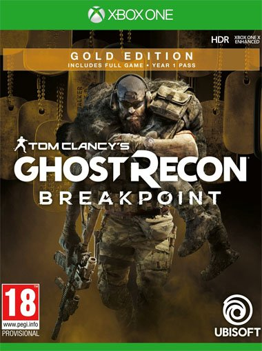 Tom Clancy's Ghost Recon Breakpoint Gold Edition - Xbox One (Digital Code) cd key