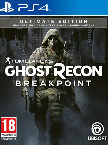 Tom Clancy's Ghost Recon Breakpoint Ultimate Edition - PS4 (Digital Code) cd key