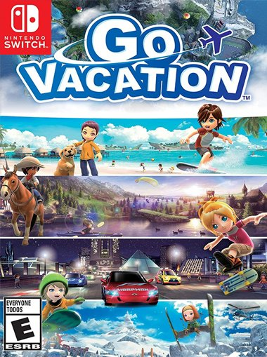 Go Vacation - Nintendo Switch cd key