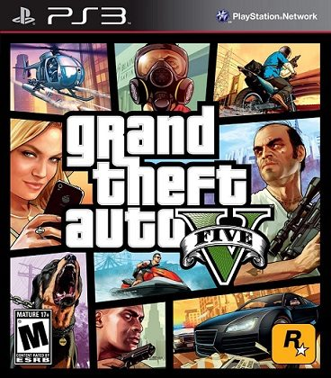 GTA 5 Grand Theft Auto 5 PS3