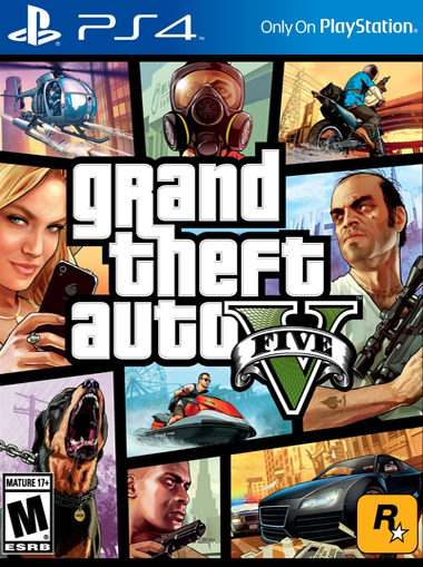 GTA 5 Grand Theft Auto 5 PS4