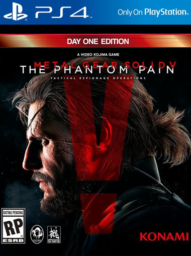 Metal Gear Solid 5 The Phantom Pain PS4