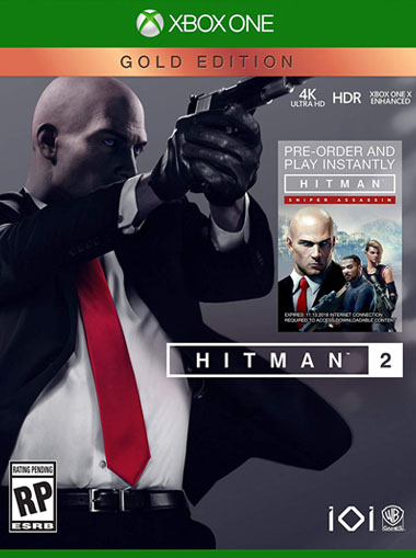 Hitman 2 Gold Edition - Xbox One (Digital Code) cd key