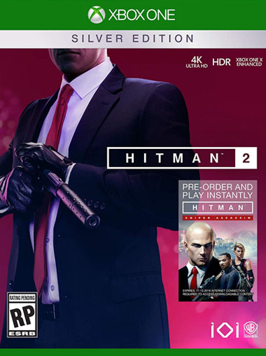 Buy Hitman 2 Silver Edition Xbox One Digital Code Xbox Live