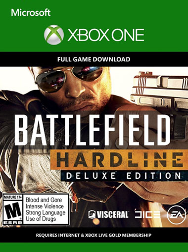 Battlefield Hardline Deluxe - Xbox One (Digital Code) cd key
