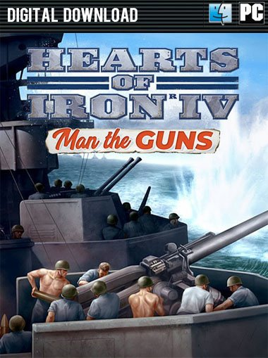 Buy Hearts of Iron IV: Man the Guns DLC PC Game | Steam Download