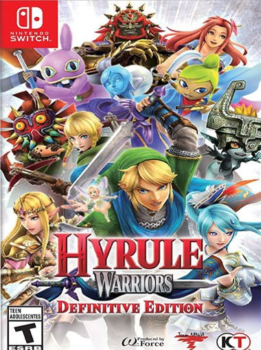 Buy Hyrule Warriors Definitive Edition Nintendo Switch Pc Game Nintendo Switch Estore Download