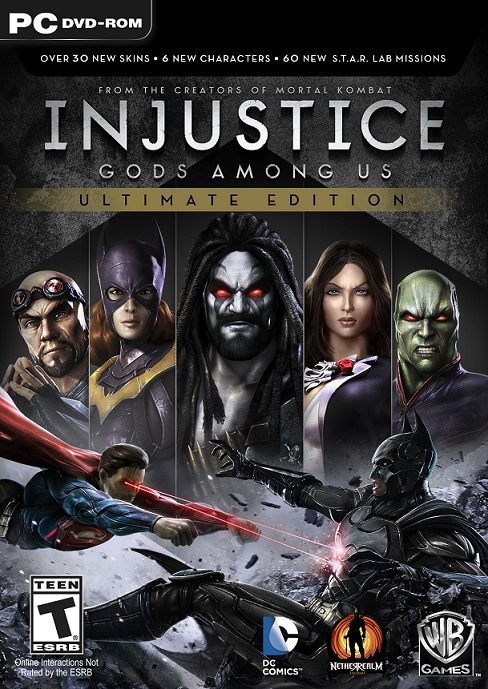 Injustice: Gods Among Us Ultimate Edition cd key