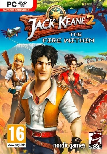 Jack Keane 2: The Fire Within  cd key