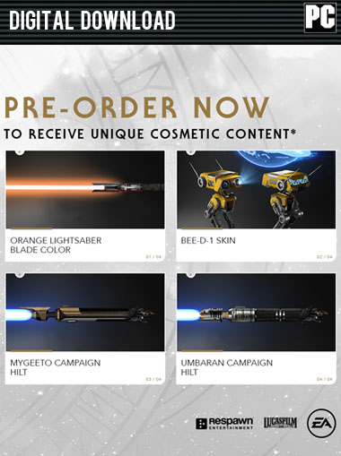 Star Wars Jedi: Fallen Order - Preorder DLC cd key
