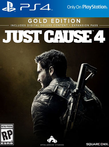Just Cause 4 Gold Edition - PS4 (Digital Code) cd key