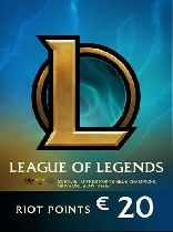 Buy League Of Legends 2800 RP (20 EUR) Game Download