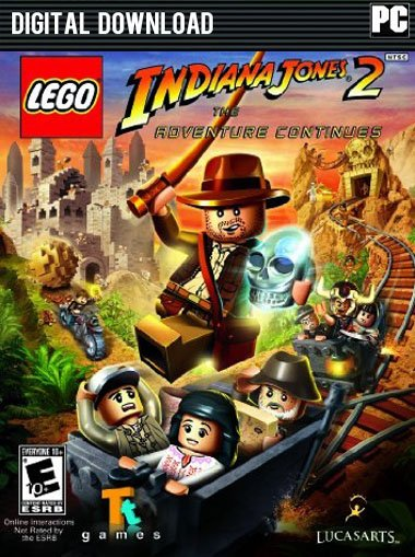 LEGO Indiana Jones 2 - The Adventure Continues cd key