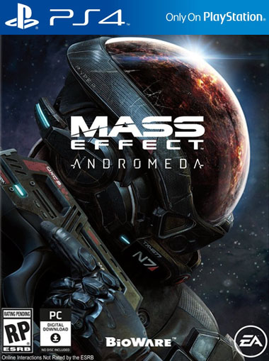 Mass Effect 4 Andromeda PS4
