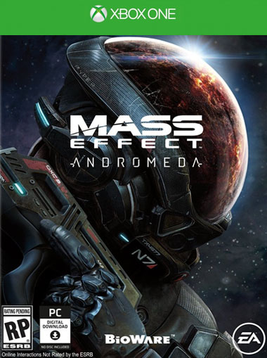 Mass Effect 4 Andromeda Xbox One