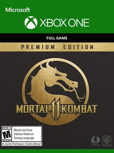 Mortal Kombat 11 Premium Edition - Xbox One (Digital Code) cd key