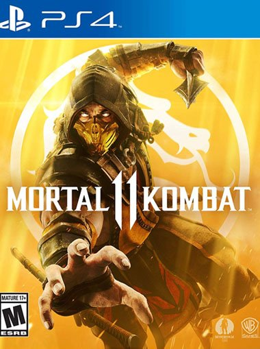 Mortal Kombat 11 - PS4 (Digital Code) - Playstation Network